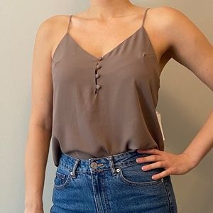 Tops - Button Front Cami